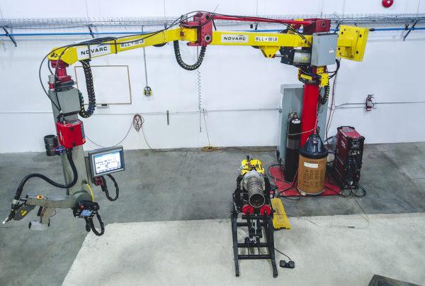 Novarc's Spool Welding Robot
