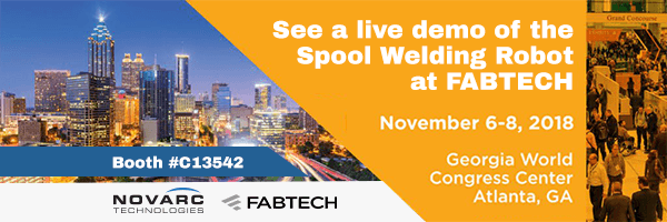 Novarc at Fabtech 2018