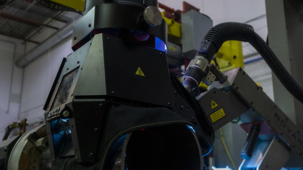 pipe welding robot