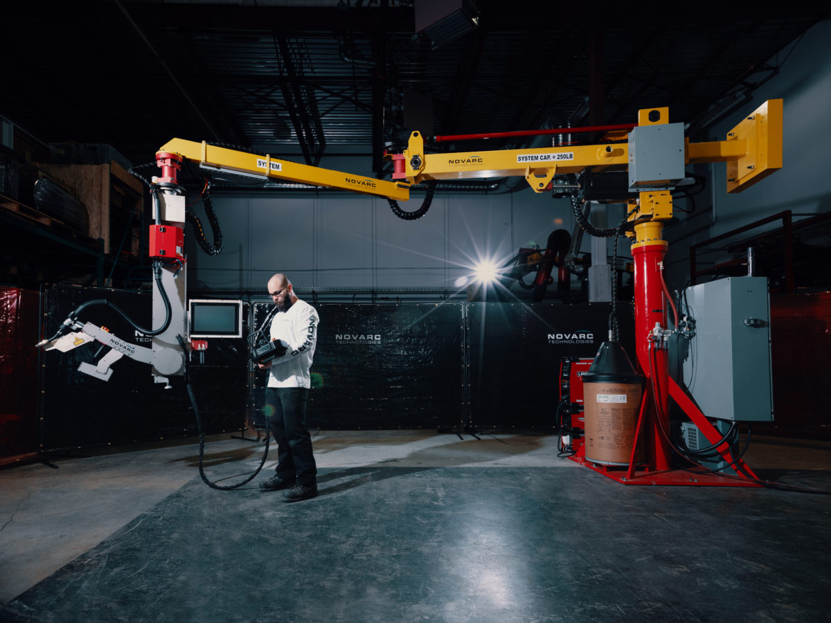 The Spool Welding Robot