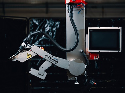 spool welding robot